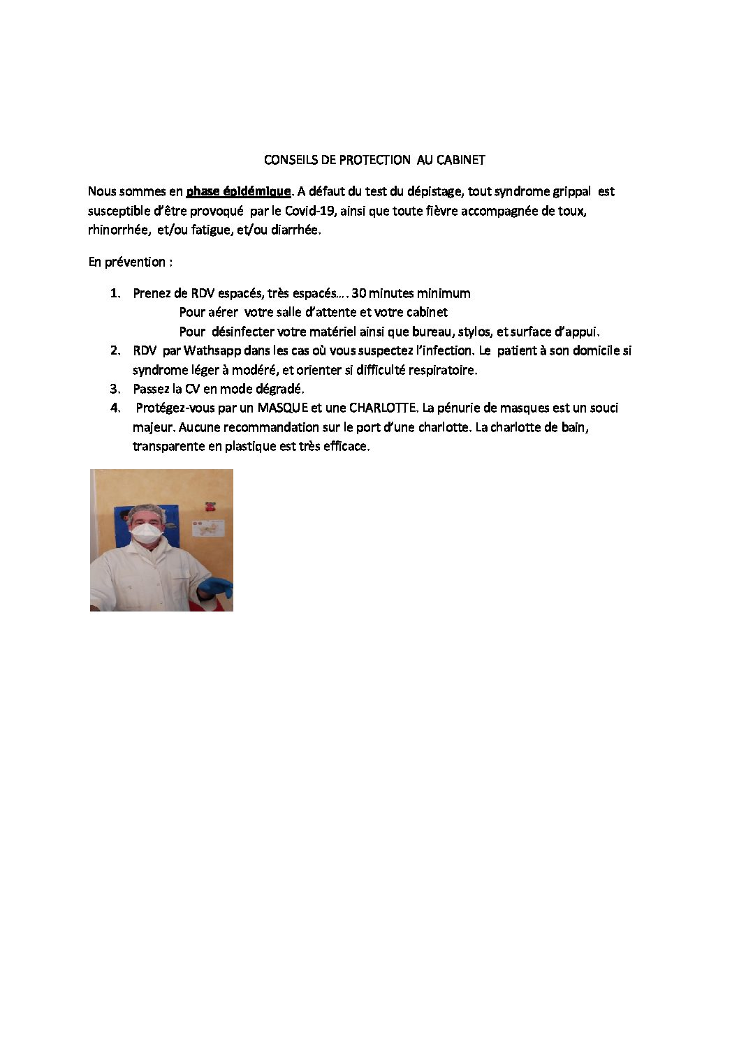 CORONAVIRUS INFORMATION PAR JOUR